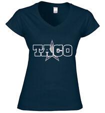 "V-NECK Ladies Taco Charlton Dallas Cowboys ""LOGO"" jersey shirt Ladies"