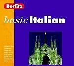 Basic Italian Berlitz Boxed Set Book + Audio Cassettes