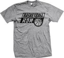 Basketball Mom Mother Parent Team Supporter Son Daughter Child Hoop Mens T-shirt
