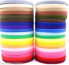 RUBAN BANDE SCRATCH AGRIPPANTE à coudre ** 20 mm ** Coloris & longueur au choix
