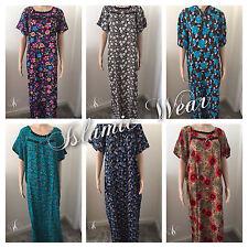 Dubai Style kaftan farasha Jalabiya maxi dress abaya  100% Cotton