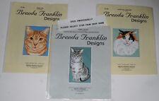 "Brenda Franklin Designs Charts Cross Stitch Tabby Tabby Calico ""Your Choice"""
