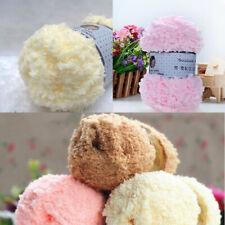 Warm Soft Acrylic Fibers Knitting Baby Corals Velvet Skin Care Yarn Wool Ball