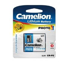 Pile Photo Lithium CR-P2 223 DL223A CRP2 6V 6 volts : à l'unité ou par lot de 5