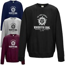 Winchester Bros. Sweatshirt - Supernatural Brothers Sam Dean Bobby Jumper Top