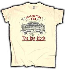 Rockabilly Hot Rod V8 T-Shirt The Big Block Cadillac US Car Klassiker Tattoo