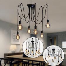 Industrie Vintage DIY Deckenlampen E27 Glühbirne Licht Chandelier Deckenleucht