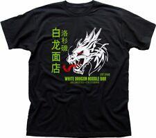 Barra de fideos White Dragon Blade Runner 2049 Tyrell Corp Negro Camiseta FN9215