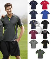Mens Polo Shirt Size S M L XL 2XL 3XL 5XL Short Sleeve Contrast Sport