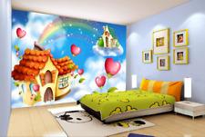 3D Love Flower Rainbow 5547 Wall Paper Wall Print Decal Wall AJ WALLPAPER CA