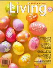 Martha Stewart Living 2010 Easter Egg Decorating Pressing Plants Pierogies Shade