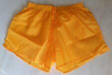 Short nylon orange taille S, M, L, XL, lightly see-through