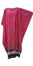 Neu NADIA 100% Baumwolle Blumen Batik Kaftan Lang Strand Bademode Maxi Kleid