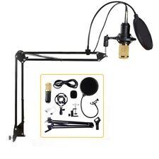 Professional Condenser Audio 3.5mm Wired BM800 Studio Microphone Vocal Recording