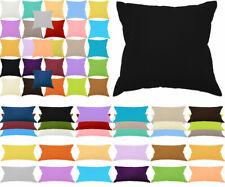 Kissenbezug 100% Baumwolle Mega Auswahl Reißverschluss Kissenbezüge Kissen Hülle