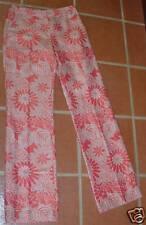 ESCADA CORAL LINEN PANTS 36 GORGEOUS !!!