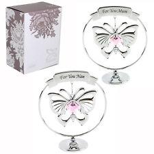 CRYSTOCRAFT regalo con farfalla & cristallo Swarovski - Mamma o NONNA