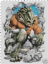 Florida Gators Mascot counted cross stitch pattern
