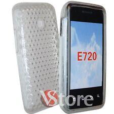 Cover Custodia Per LG E720 Optimus Chic in Silicone Gel TPU Diamond Trasparente
