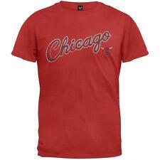 Chicago Bulls - Logo Scrum Premium Adult Mens T-Shirt