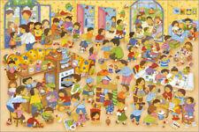 Poster / Canvas print / Glass print A day at kindergarten - Marion Krätschmer