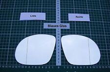 Außenspiegel Spiegelglas Ersatzglas BMW M3 Tuning Sportspiegel Li o Re asph Blau