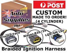 Custom Ignition Coil Harness Wiring Loom DIY R35 Yaris LQ9 LS R8 SR EVO CA 4G63