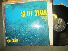 UGO CALISE Sette Mari OST LP '69 Italian orig ocean library funk Edda dell'Orso