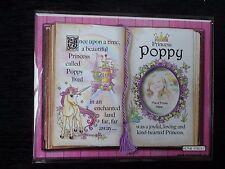 POPPY Principessa Unicorn Mount regalo con versi e foto SPAZIO-Scegli una cornice