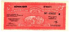 Haiti ... P-502 ... 5 Gourdes ... (1962) ... *XF* ... SERIE A