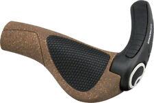 Ergon GP3- L & S Standard Grip BioKork w/Adjustble Bar end Ergo MTB /Hybrid cork