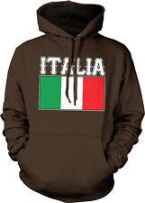Italia Flag Italy Font Colors Italian Soccer Heritage Team IT Hoodie Sweatshirt