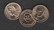 Präsidentendollar 2016 : alle 3 Münzen in  D oder P