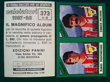CALCIATORI 1987-88 87-1988 n 373 CREMONESE SERIE B - Figurine Panini con velina