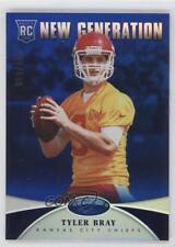 2013 Panini Certified Mirror Blue #293 New Generation Tyler Bray Football Card