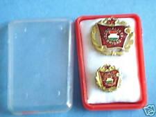 Hungary Hungarian Badge Set Socialist Brigade Gold Pin Communist Lot Labor Medal