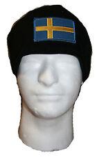 Military Polar Fleece Operators Watch Cap Sweden Flag Beanie Hat Rothco 8760