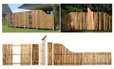 Sichtschutz WALDEN aus Kiefernholz, Holzzaun Gartenzaun mit Design Zaun Elemente