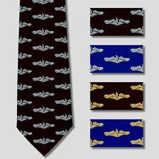 Submarine Dolphin Necktie Tie Insignia Badge USN SSN SSBN SSGN SS