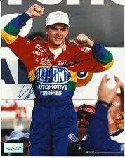 JEFF GORDON SIGNED 8X10 PHOTO PROOF! COA IN PERSON NASCAR