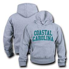 NCAA Coastal Carolina University Hoodie Sweatshirt Game Day Fleece Heather Grey