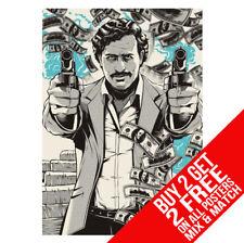Pablo Escobar BB4 Tazza Colpo Narco Poster A4 A3 Misura - Buy 2 Get Any 2 Gratis