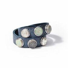 Noosa Armband blau doppelt gewickelt WDS-260-19