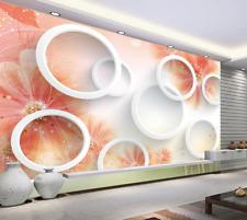 Papel Pintado Mural De Vellón Pétalo Blanco Del Anillo 2 Paisaje Fondo Pantalla