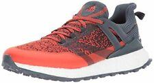 adidas Golf Men's Crossknit Boost Golf-Shoes, Blaze Orange Bold Onix/Bold Onix,