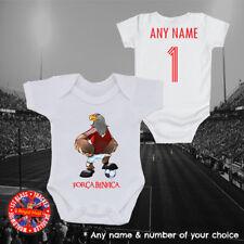 Personalised Benfica Football Baby Grow, Kids t-shirt, Portugal, Ronaldo, Gift