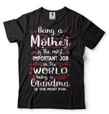 Grandma T-shirt Mother's day Gift T-shirt Gift for Grandmother Funny Tee Shirt