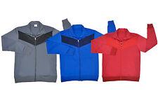 Plain Tricot chaqueta de pista Deportes superior Wear formación Ropa Running Jogging
