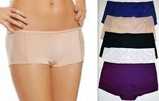 Womens Ladies Jockey Boyshorts Microfibre Silky Light and Airy Pants Knickers