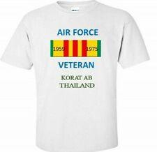 Korat Ab *Thailand *Air Force Vietnam Veteran Ribbon 1959-1975 Shirt